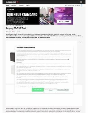 Ampeg PF-350 Micro-Bass-Head