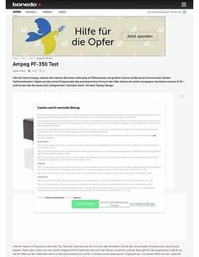 Ampeg PF-350 Micro-Bass-Head