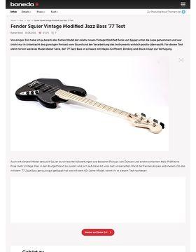 Fender Squier Vintage Modified Jazz Bass '77