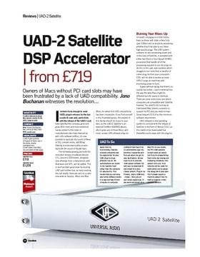 UAD-2 Satellite DSP Accelerator