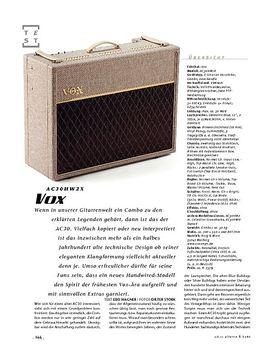 Vox AC30HW2X, Gitarren-Combo
