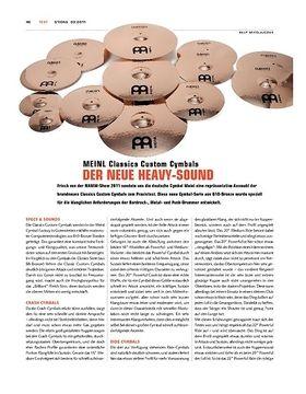 Meinl Classics Custom Cymbals