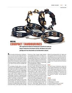 Meinl Compact Tambourines