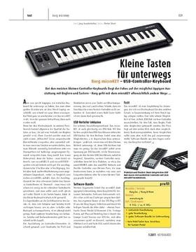 Korg microKEY – USB-Controller-Keyboard