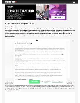 Reflection-Filter Vergleichstest