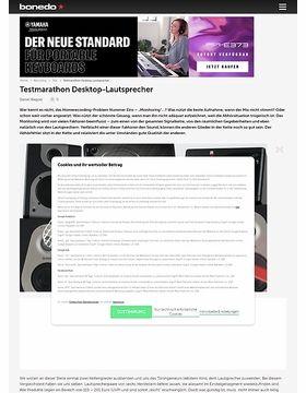 Testmarathon Desktop-Lautsprecher