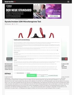 Rycote USM Mikrofonspinne