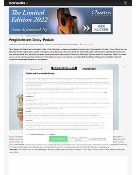 Testmarathon Delay-Pedale