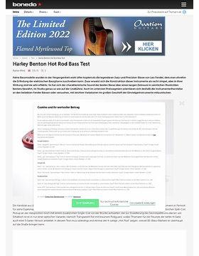 Harley Benton Hot Rod Bass