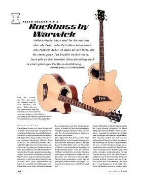 Rockbass by Warwick Alien Deluxe 4 & 5, Akustik-Bässe