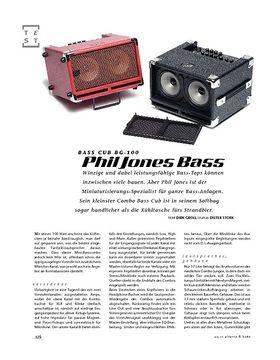 Phil Jones Bass Cub BG-100, Bass-Amp