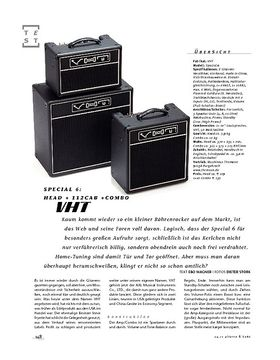 VHT Special 6: Head + 112Cab + Combo, Röhren-Amp