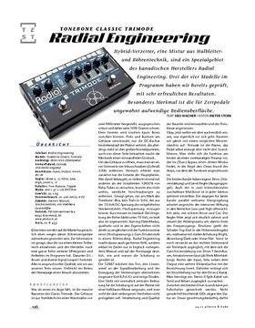 Radial Engineering Tonebone Classic Trimode, Verzerrer