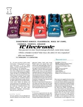 TC Electronic TonePrint-Serie