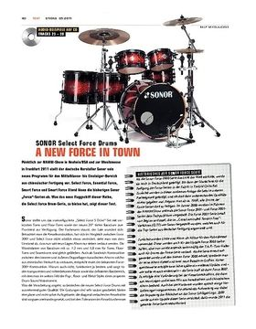 Sonor Select Force Drums