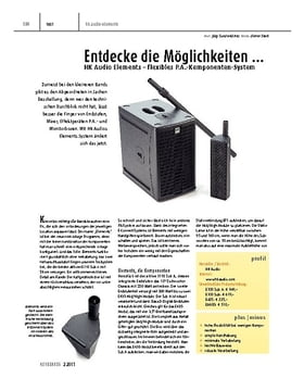 HK Audio Elements – flexibles P.A.-Komponenten-System
