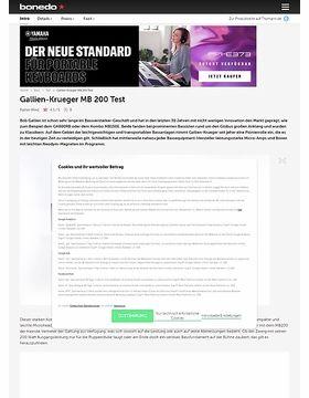 Gallien-Krueger MB 200