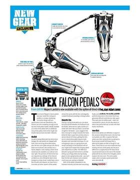 MAPEX FALCON PEDALS