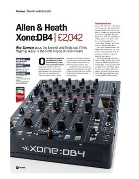 Allen and Heath Xone:DB4