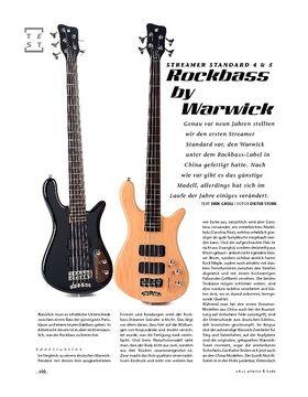 Rockbass by Warwick Streamer Standard 4 & 5, Bässe