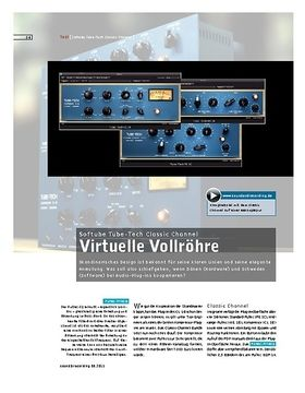Softube Tube-Tech Classic Channel – Channel-Strip Plug-in-Bundle
