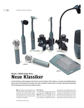 Shure BETA Drum-Mics – Drum/Percussion-Mikrofone
