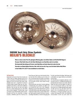 Sabian Vault Holy China Cymbals