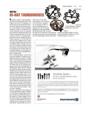 Meinl Hi-Hat Tambourines