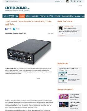 Test: Little Labs, Redeye 3D Phantom, Di-/Re-amp-Box