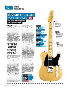 SQUIER CLASSIC VIBE 50s TELECASTER