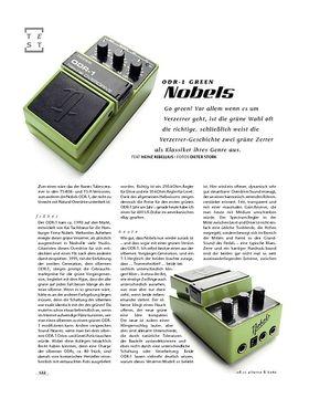 Nobels ODR-1 Green, Overdrive-Pedal