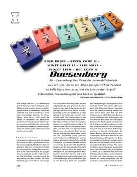 Duesenberg Effekt-Pedale