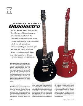 Danelectro '56 Guitar & '56 Guitar D, E-Gitarren