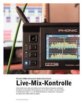 Phonic PAA6 Personal Audio Assistant – Universalmessgerät