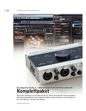NI Komplete Audio 6 – USB-Interface mit Software-Bundle