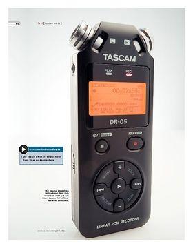 Tascam DR-05 – Handy Recorder