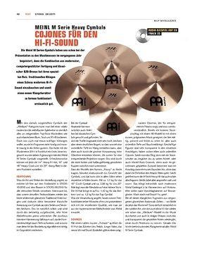 Meinl M Serie Heavy Cymbals