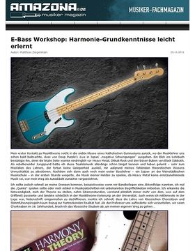 Workshop: Fretboard Harmony for Bass Guitar I