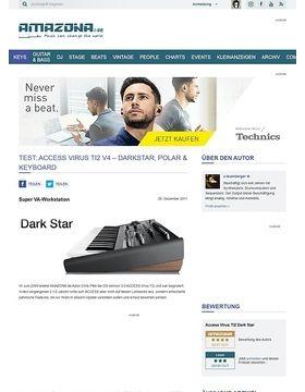 ACCESS VIRUS TI2 DARK STAR