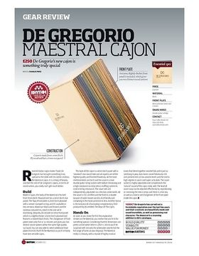 DE GREGORIO MAESTRAL CAJON