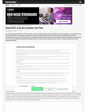 Røde NT2-A Studio Solution Set