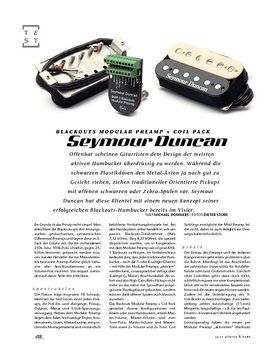 Seymour Duncan Blackouts Modular Preamp + Coil Pack