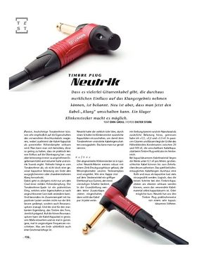 Neutrik Timbre Plug, Spezial-Klinkenstecker