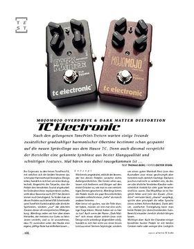 TC Electronic MojoMojo Overdrive & Dark Matter Distortion, Verzerrer