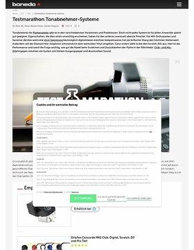 Testmarathon Tonabnehmer-Systeme