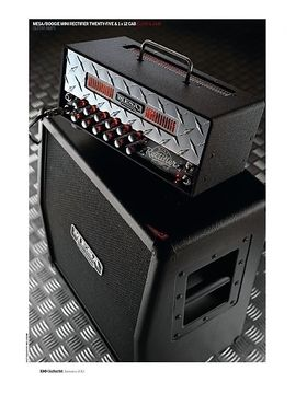 Mesa/Boogie Mini Rectifier Twenty-Five and Mini Recto 1 x 12 cabinet