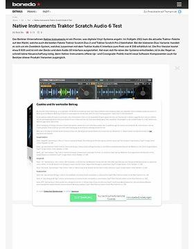 Native Instruments Traktor Scratch Duo 2/ Audio 6
