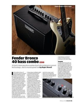 Fender Bronco 40 bass combo