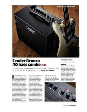 Fender Bronco 40 bass combo