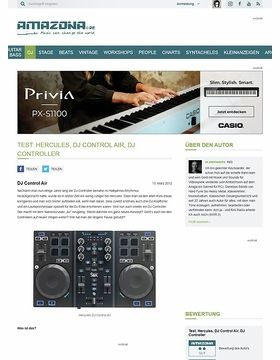 Test: Hercules, DJ Control Air, DJ Controller